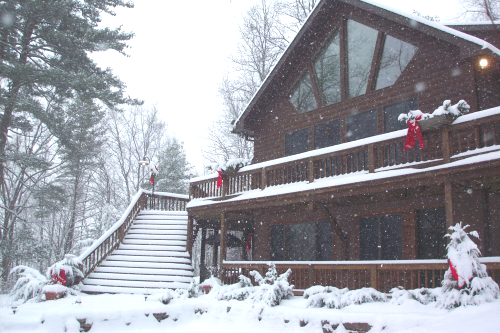 Bear Lodges Wellsboro In the Winter